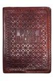 Vintage passport cover Stock Image
