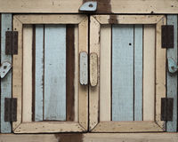 Vintage Pastel Cabinet. Old Vintage Pastel Cabinet made from wood Royalty Free Stock Photos