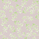 Vintage pastel leaves, flowers. Ditsy muted repeated pattern. Retro watercolor Stock Photography