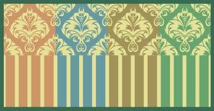 Vintage pastel patterns set Royalty Free Stock Images