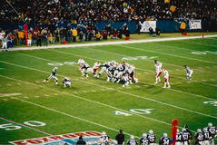 Vintage Patriots v. Chiefs 2000 MNF game Stock Photo