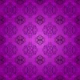 Vintage pattern. Vintage seamless purple ornate pattern Royalty Free Stock Photos