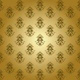 Vintage Pattern. Golden vintage background pattern design Royalty Free Stock Photography