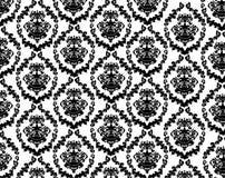 Vintage pattern. Black and white detaied vintage pattern royalty free illustration