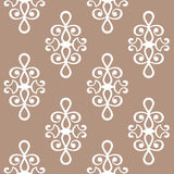 Vintage pattern. Abstract seamless pattern. The texture may be used for printing on fabric or paper and in web design. Mint and chocolate shades. Beautiful vector illustration
