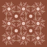 Vintage pattern background. Classic pattern background vector flower Stock Images