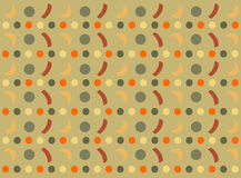 Vintage pattern. Background with different vintage pattern Stock Image