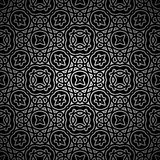 Abstract black pattern Stock Photo