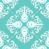 Vintage pattern with damask motifs Royalty Free Stock Image