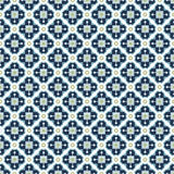 Vintage pattern. Vintage dark blue and green colors seamless pattern Royalty Free Stock Photos