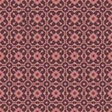 Vintage pattern. Vintage dark brown and pink colors seamless pattern Stock Photo