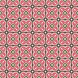 Vintage pattern. Vintage dark brown and pink colors seamless pattern Royalty Free Stock Photo