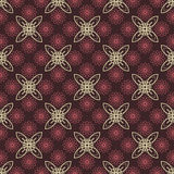 Vintage pattern. Vintage dark seamless pattern with flowers and ornaments Stock Images