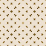 Vintage pattern of dots Royalty Free Stock Photos