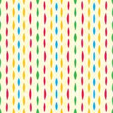 Vintage pattern fabric, colorful strokes and lines Stock Photos