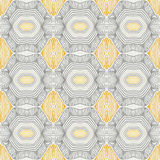 Vintage pattern, fifties sixties wallpaper design. Abstract vector seamless pattern with lines similar to 50s and 60s wallpapers design. Concept of home, vintage Stock Photography