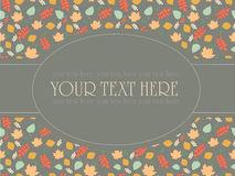 Vintage pattern for invitation and cards Stock Images