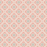 Vintage pattern. Light brown seamless pattern with blue lines vector illustration