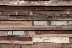 Vintage pattern of old wood textured Royalty Free Stock Image