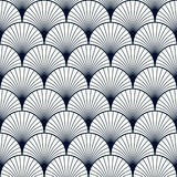 Vintage pattern of shells Stock Images
