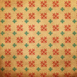 Vintage pattern with snowflake Royalty Free Stock Images