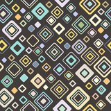 Vintage pattern - vector, style of the fifties Stock Images