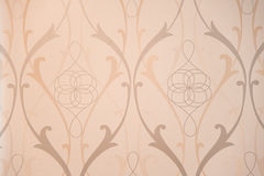 Vintage Pattern Wallpaper Close-up Royalty Free Stock Photography