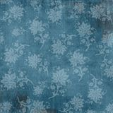 Vintage patterned background. Vintage steel blue patterned and textured background Stock Photo