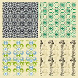 Vintage patterns Stock Image