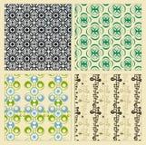 Vintage patterns Stock Image