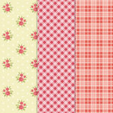 Vintage patterns 3 Stock Photography