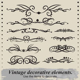 Vintage patterns. Royalty Free Stock Images