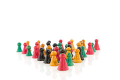 Vintage pawns Royalty Free Stock Images