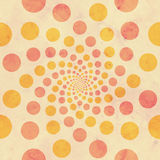 Vintage Peach Pink Circles Background Royalty Free Stock Image