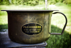 Vintage pee pot Stock Photography