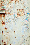 Vintage Peeling Paint on Metal Background Royalty Free Stock Photo