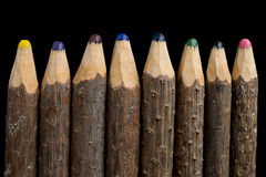 Vintage Pencils Stock Images