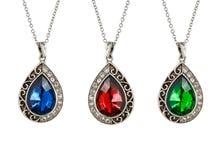 Vintage pendants Stock Photo