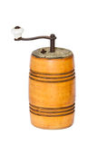 Vintage pepper mill spice antique Royalty Free Stock Image