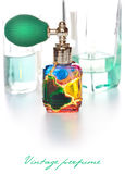 Vintage perfume Stock Images