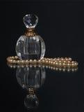 Vintage perfume bottle Royalty Free Stock Image