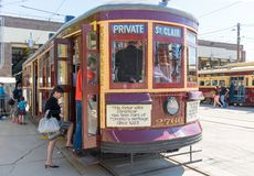 Vintage Peter Witt TTC Streetcar, Toronto Heritage Royalty Free Stock Photo