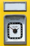 Vintage petrol pump dial Royalty Free Stock Photo