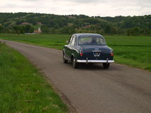 Vintage Peugeot 404 on the road Stock Images