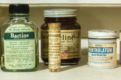 Vintage Pharmacy Drugs. royalty free stock images