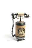 Vintage Phone. On White Background royalty free stock images