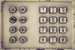 Vintage phone button Royalty Free Stock Photos