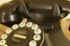 Vintage phone crop Royalty Free Stock Images