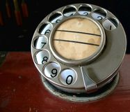 Vintage Phone Dial Stock Images