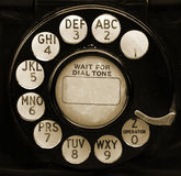 Vintage Phone Dial Royalty Free Stock Photo